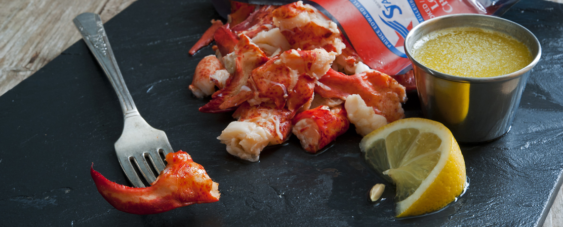 Retail Cooked Lobster Meat Packs