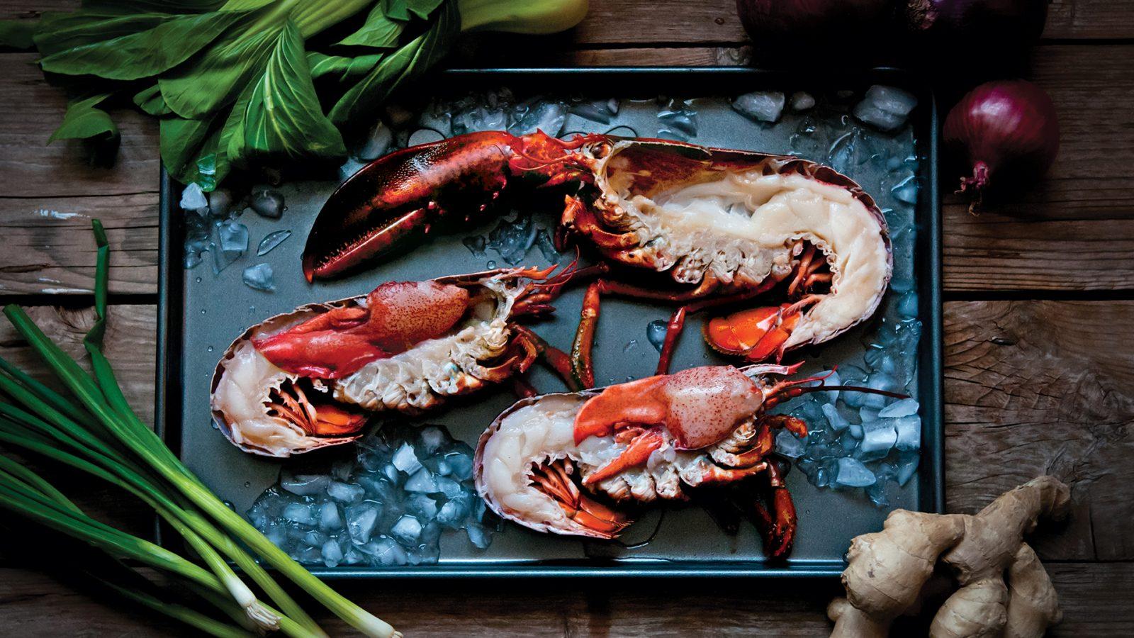 PEI half lobsters