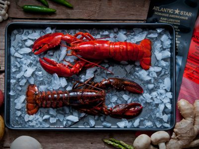 Whole Vac Pac Lobster Raw/Blanched
